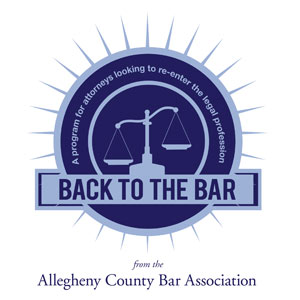 Back to the Bar Program logo