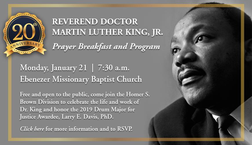 MLK Breakfast and Prayer Program