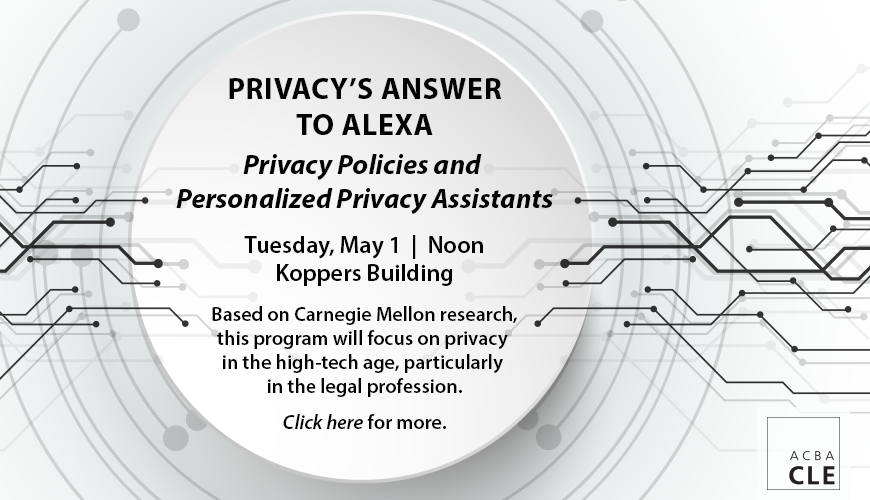ACBA CLE - Privacy Policies