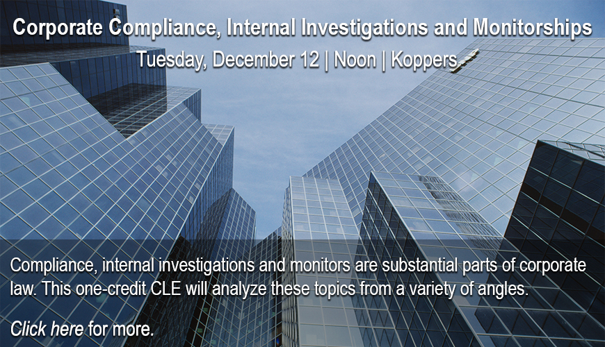 ACBA CLE -  Corporate Compliance and Internal Investigations