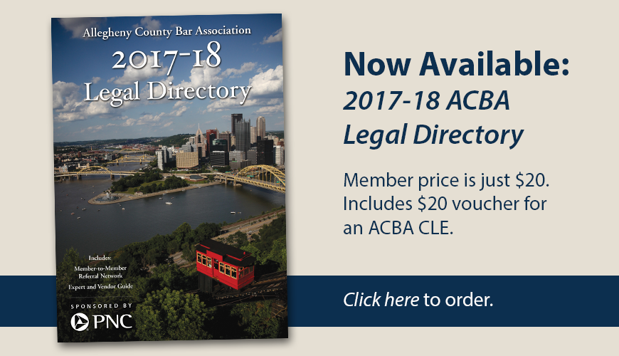 2017 Legal Directory