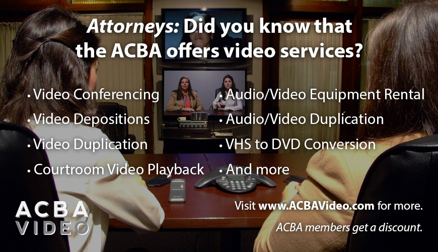 ACBA Video Services