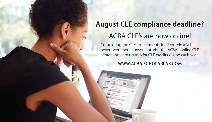 Online Compliance CLE in August