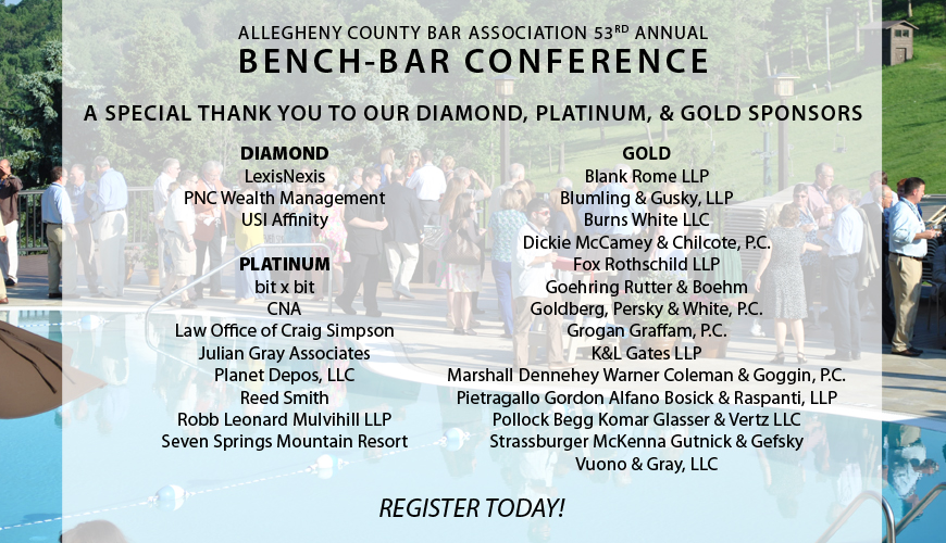 Bench Bar 2015 registration