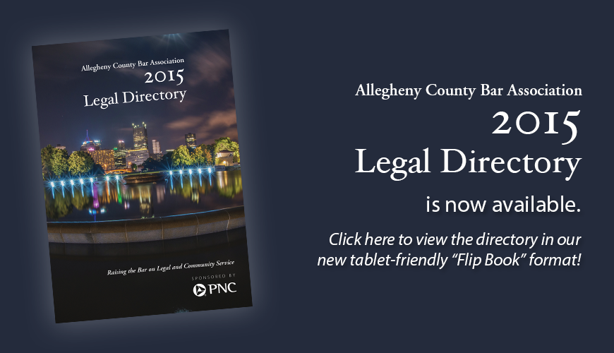 2015 Legal Directory