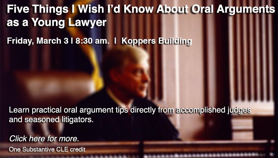 Oral Arguments CLE