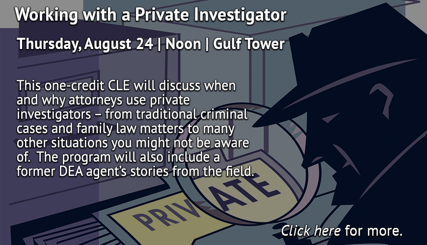 ACBA CLE Working with a Private Investigator