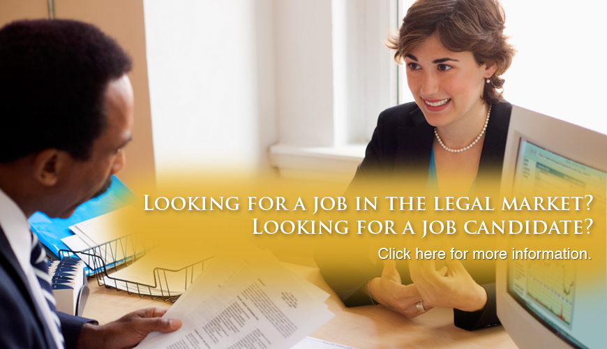 Attorney and legal jobs