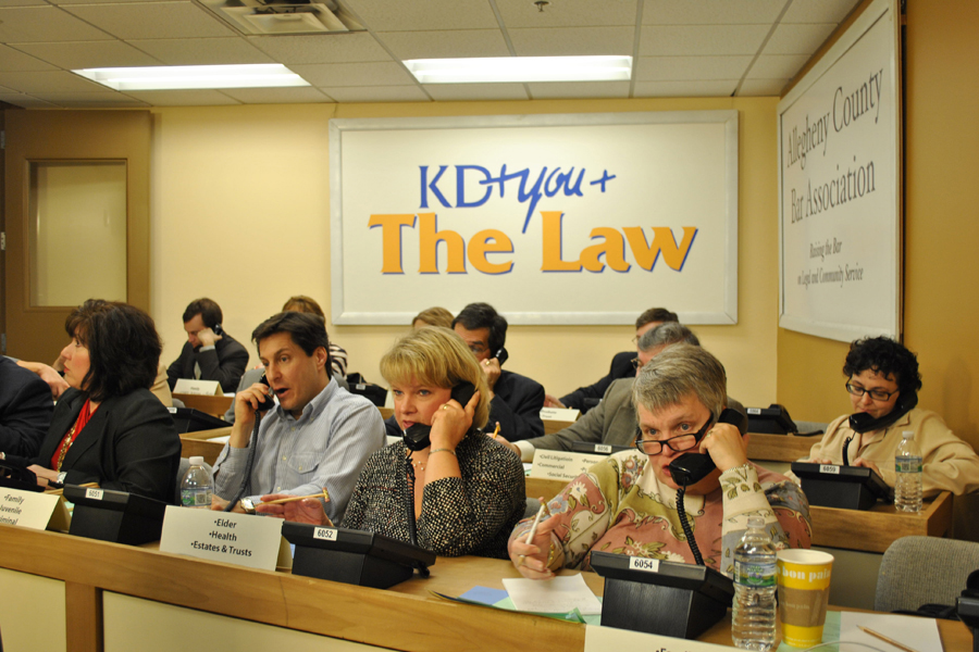 KD & You and the Law event